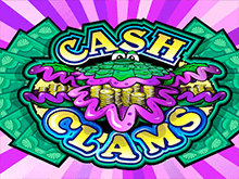 Играть онлайн в автомат Cash Clams